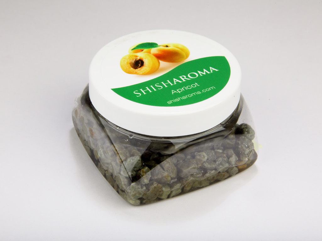 hookah stone with apricot flavour, shisharoma