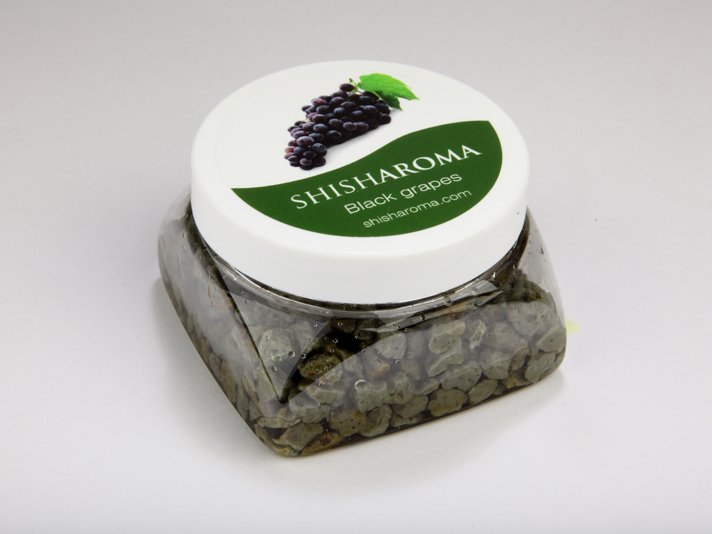 shisha shisha steam stone, black grapes