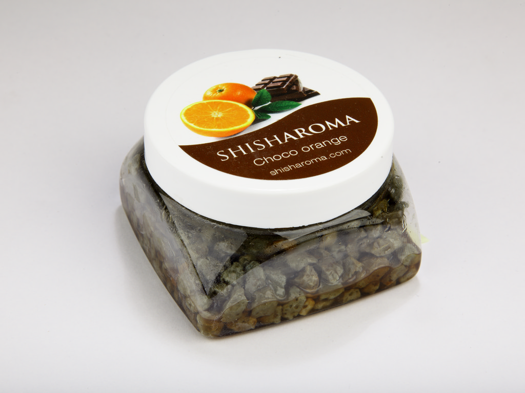 shisharoma chocolate and orange flavoured stone